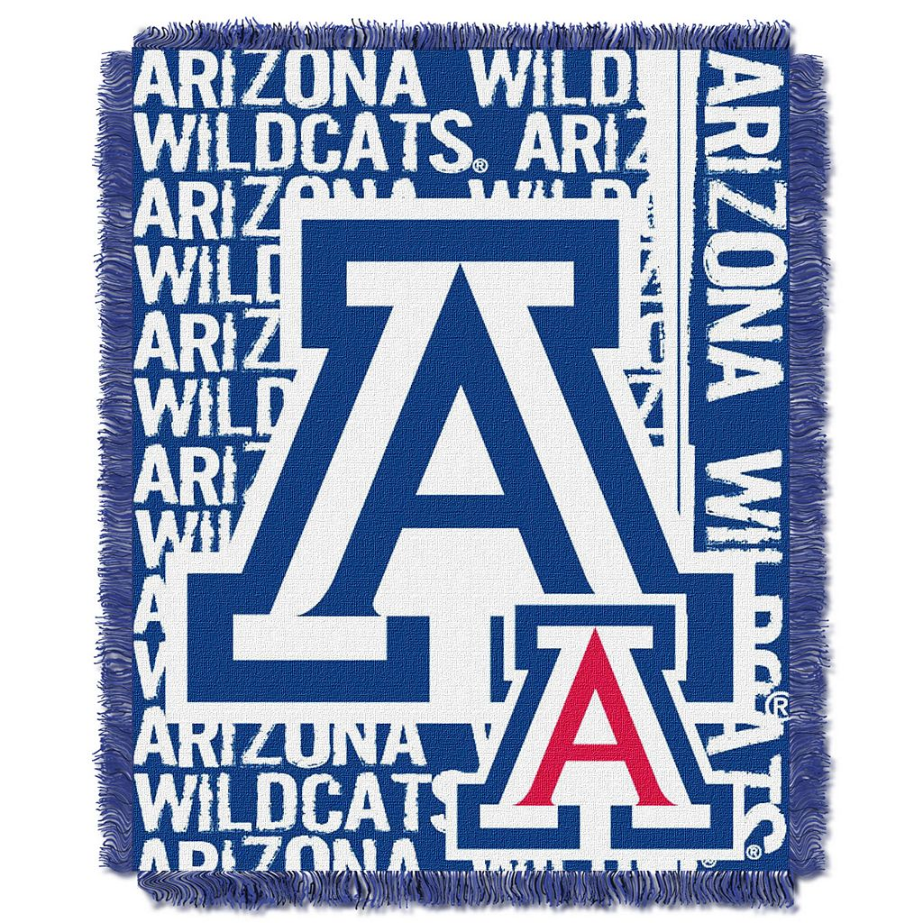 Arizona Wildcats Jacquard Throw Blanket by Northwest