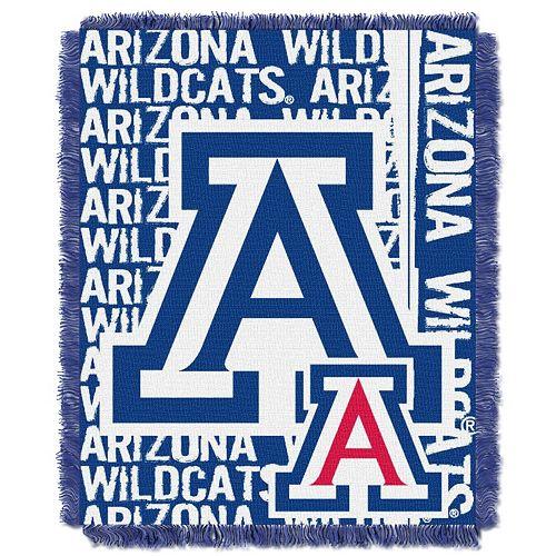 Arizona Wildcats Jacquard Throw Blanket by Northwest