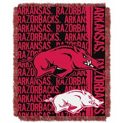 Arkansas Razorbacks Jacquard Throw Blanket by Northwest