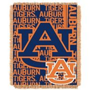 Auburn Tigers Jacquard Throw Blanket by Northwest