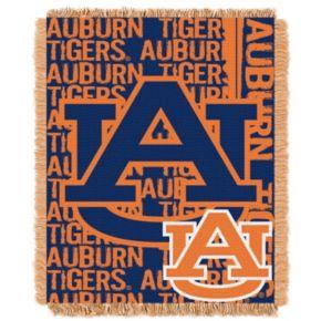 Auburn Tigers Jacquard Throw Blanket by Northwest