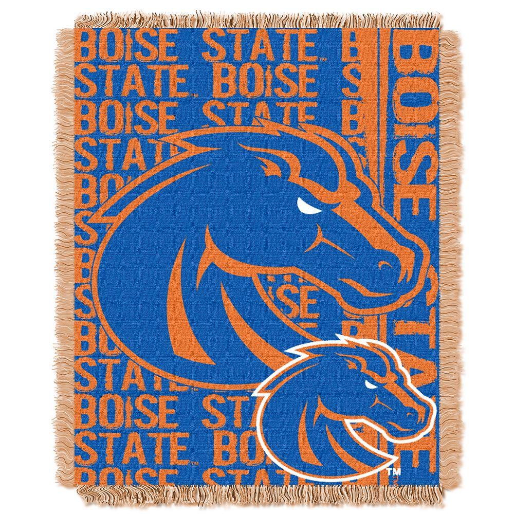 Boise State Broncos Jacquard Throw Blanket by Northwest