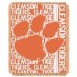 Clemson Tigers Jacquard Throw Blanket by Northwest