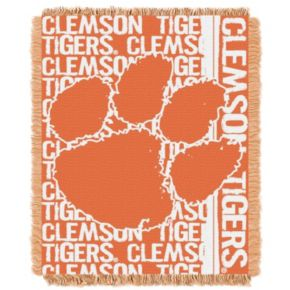 Clemson Tigers Jacquard Throw Blanket by Northwest