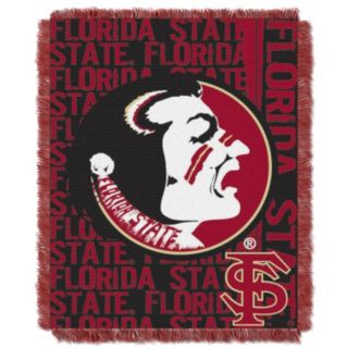 Florida State Seminoles Jacquard Throw Blanket by Northwest