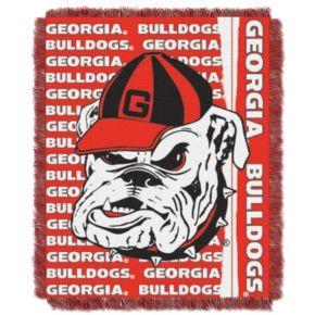 Georgia Bulldogs Jacquard Throw Blanket by Northwest