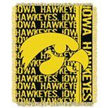 Iowa Hawkeyes Jacquard Throw Blanket by Northwest