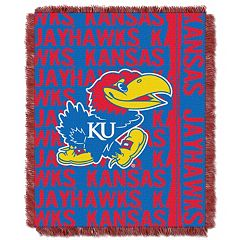 Kansas Jayhawks Jacquard Throw Blanket by Northwest