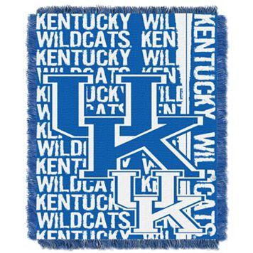 Kentucky Wildcats Jacquard Throw Blanket by Northwest