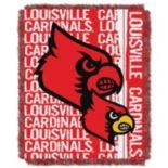 Louisville Cardinals Jacquard Throw Blanket by Northwest