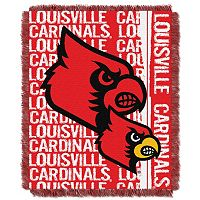 Louisville Cardinals Jacquard Throw Blanket by Northwest