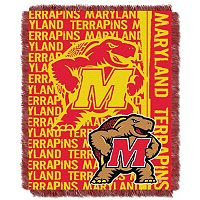 Maryland Terrapins Jacquard Throw Blanket by Northwest