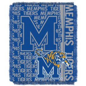 Memphis Tigers Jacquard Throw Blanket by Northwest
