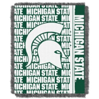 Michigan State Spartans Jacquard Throw Blanket by Northwest