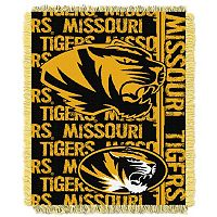 Missouri Tigers Jacquard Throw Blanket by Northwest