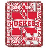 Nebraska Cornhuskers Jacquard Throw Blanket by Northwest