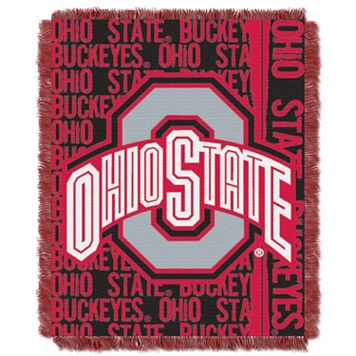 Ohio State Buckeyes Jacquard Throw Blanket by Northwest