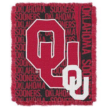 Oklahoma Sooners Jacquard Throw Blanket by Northwest