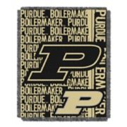 Purdue Boilermakers Jacquard Throw Blanket by Northwest
