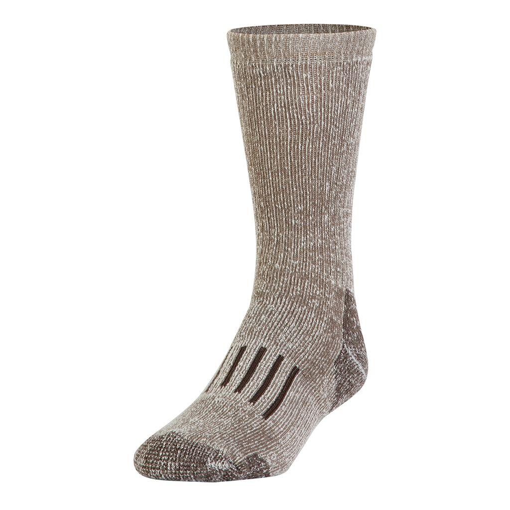 Adult GOLDTOE 2-pk. PowerSox Wool-Blend Boot Crew Socks