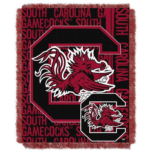 South Carolina Gamecocks Jacquard Throw Blanket by Northwest