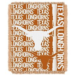 Texas Longhorns Jacquard Throw Blanket by Northwest