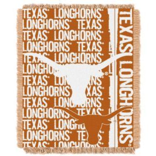 Texas Longhorns Jacquard Throw Blanket by Northwest