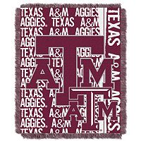 Texas A&M Aggies Jacquard Throw Blanket by Northwest