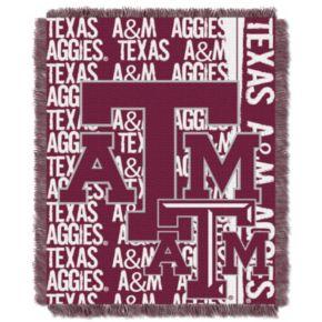 Texas AandM Aggies Jacquard Throw Blanket by Northwest