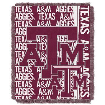 Texas A&M Aggies Jacquard Throw Blanket by Northwest