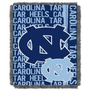 North Carolina Tar Heels Jacquard Throw Blanket by Northwest