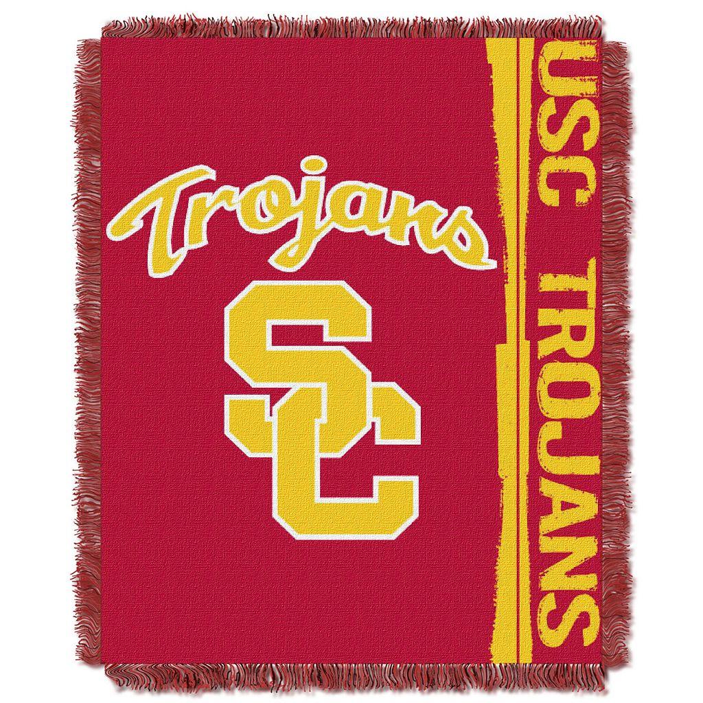 USC Trojans Jacquard Throw Blanket by Northwest