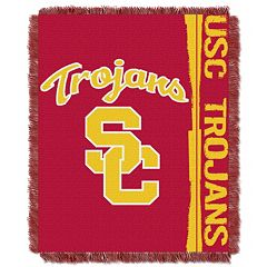 USC Trojans Jacquard Throw Blanket by Northwest