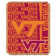 Virginia Tech Hokies Jacquard Throw Blanket by Northwest