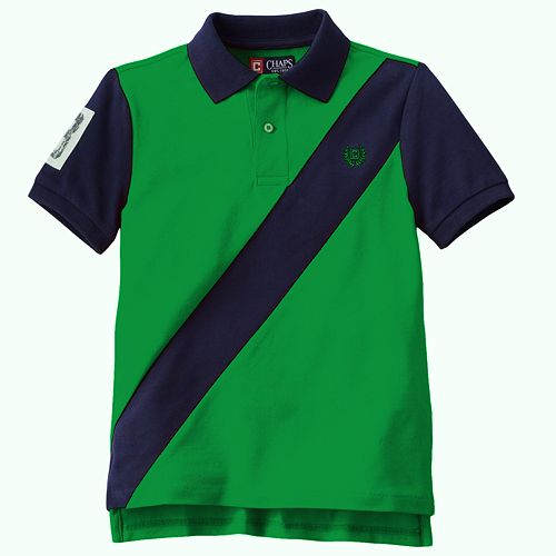 Chaps Colorblock Polo - Boys 4-7
