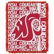 Washington State Cougars Jacquard Throw Blanket by Northwest