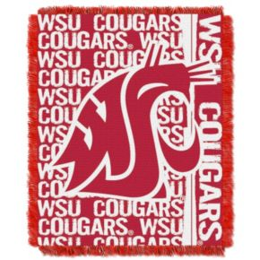 Washington State Cougars Jacquard Throw Blanket by Northwest