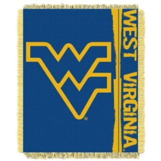 West Virginia Mountaineers Jacquard Throw Blanket by Northwest