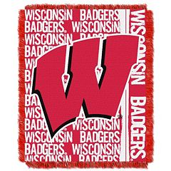 Wisconsin Badgers Jacquard Throw Blanket by Northwest