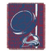 Colorado Avalanche Jacquard Throw Blanket by Northwest