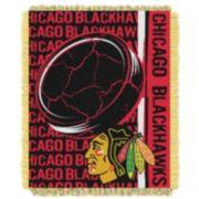 Chicago Blackhawks Jacquard Throw Blanket by Northwest