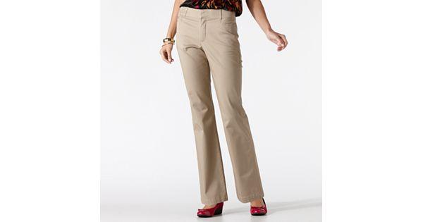 Women S Gloria Vanderbilt Charlene Comfort Waist Dress Pants