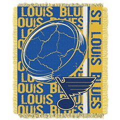 St. Louis Blues Jacquard Throw Blanket by Northwest