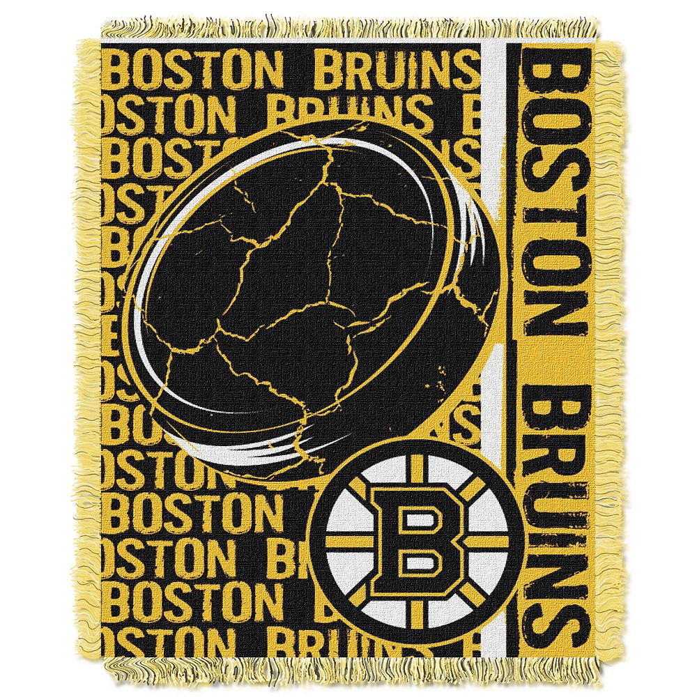 Boston Bruins Jacquard Throw Blanket by Northwest