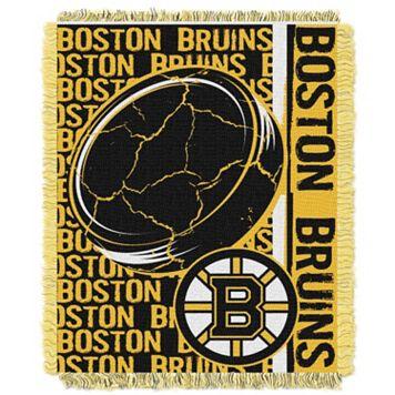 Boston Bruins Jacquard Throw Blanket by Northwest