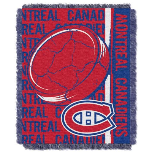 Montreal Canadiens Jacquard Throw Blanket by Northwest