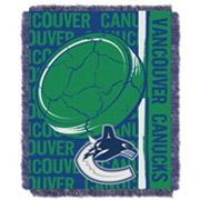 Vancouver Canucks Jacquard Throw Blanket by Northwest