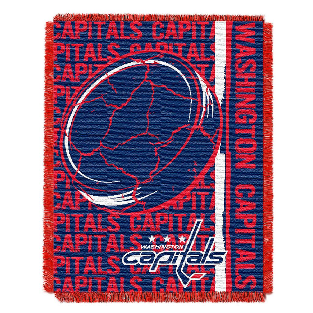 Washington Capitals Jacquard Throw Blanket by Northwest