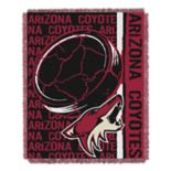Phoenix Coyotes Jacquard Throw Blanket by Northwest