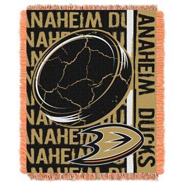 Anaheim Ducks Jacquard Throw Blanket by Northwest